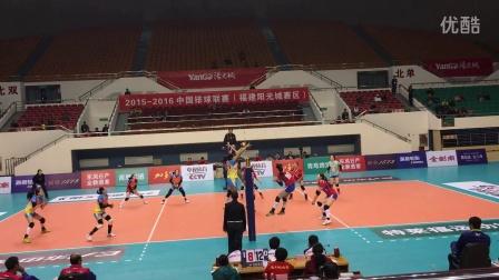 中国女排联赛第18轮 福建女排 VS 辽宁女排 第二局