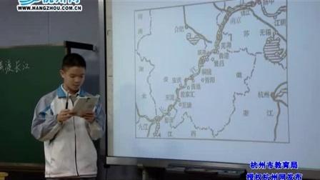 初二语文《人民解放军百万大军横渡长江》胡培兴
