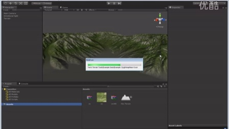 Unity3d高精度低面数地形绘制_地形导入Unity3d