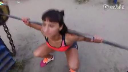 力量女孩极限健身训练太励志