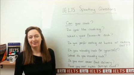 Ielts liz speaking part 1 with answers