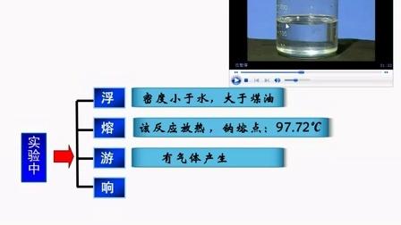 高一化学微课视频《钠和水的反应》
