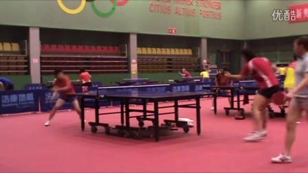 袁义兴教练带你进入乒乓球国家二队训练现场
