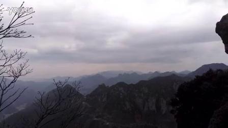 20160103浦江马岭美女峰山顶