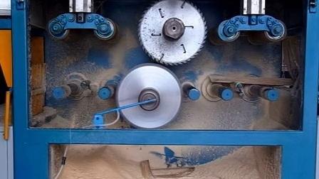 全自动方木多片锯250-400佛山市南海区正启机械厂-8_标清