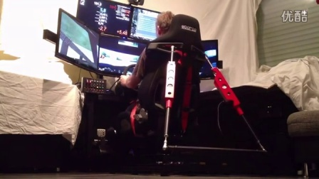 DIY Motion Simulator with rear traction loss by Ronny (Simxperience SNC5)