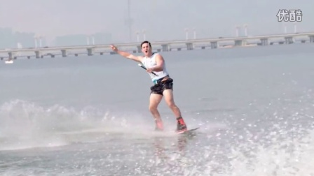 2015滑水世界杯临沂站尾波滑水片段集合Wakeboard Sensation at Linyi China World Cup 2015