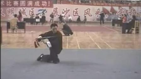 2005年传统武术比赛王晓弟单剑