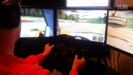 Simxperience AccuForce Pro wheel with iRacing FFB