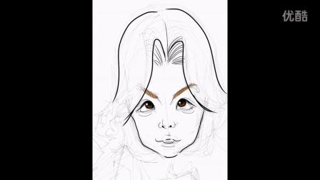 (SILSTAR BUTOUCH)用电容毛笔画KangNam漫画