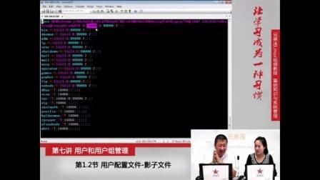 兄弟连新版Linux视频教程  用户和用户组管理-用户配置文件-影子文件