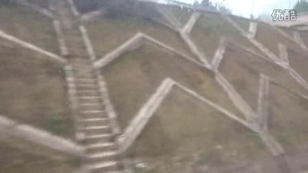 2016.01.10 巴达铁路正式运行第一天 第一趟客车K9413次重庆北至巴中运行于曾口至兴文区间