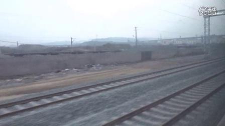2016.01.10 巴达铁路 K9411次首发巴中至重庆北通过兴文