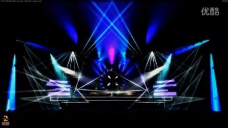 演唱会灯光模拟