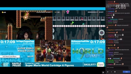 AGDQ 2016 Super Kaizo Maker Showcase w_ Chat