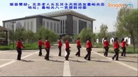 嘉峪关绚丽广场舞《红尘蝶恋》 - 糖豆网广场舞视频大全