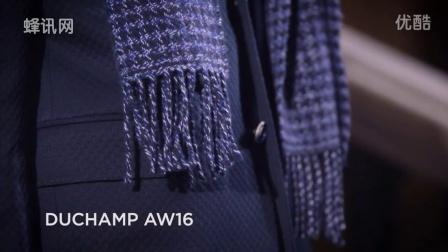 2016秋冬伦敦男装时装周走秀发布会:Duchamp