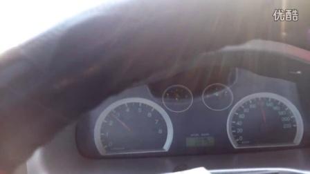 华泰圣达菲2.0汽油改装机械增压后,直接档60-120加速,往返测试用时19秒以内