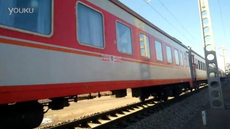 乌海站HXD3C北京北到乌海西K1595
