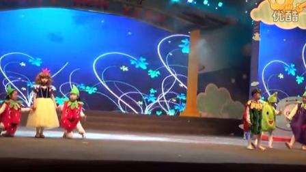 福州少儿语言表演培训李晶学校话剧白雪公主和水果宝宝