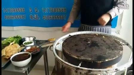 杂粮煎饼的制作过程 煎饼培训  煎饼果子酱的制作方法 哪里可以学做山东杂粮煎饼  煎饼果子的面怎么活  煎饼果子薄脆做法