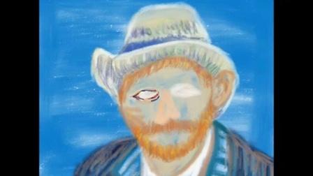 (SILSTAR BUTOUCH)用ipad点触笔画Vincent Van Gogh