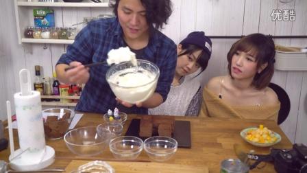【大吃货爱美食】Cook Guide 两位萌妹子一起动手做可爱的生日蛋糕 160115