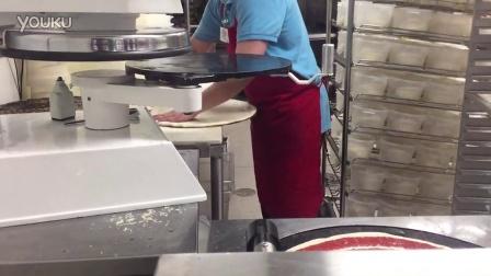 美国超市怎么做披萨,这就叫专业。