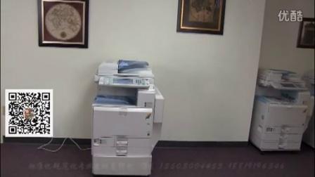 理光mpc3501彩色复印机出租视频