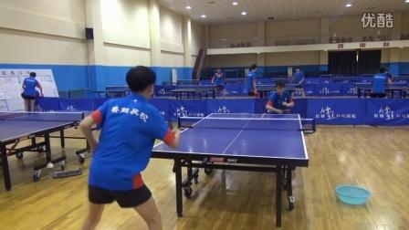 《乒乓球技术训练》直横拍台内拧球转正反手连续攻练习完整版