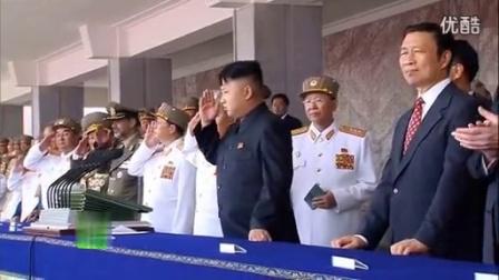 朝鲜战争停战60周年 阅兵盛况---搞笑的正步姿势