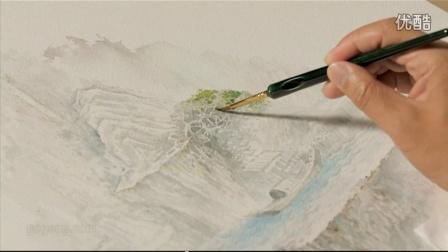 (转)水彩画基础教程第05课笔法综合创作   课时10 · 综合创作-10