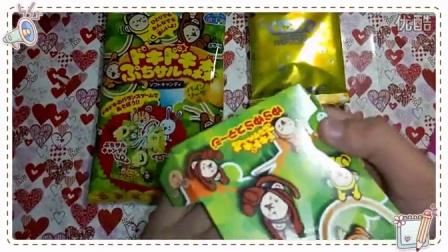 【久久の食玩time】日本嘉娜宝kracie菠萝苏打味森林猴子DIY手工糖果