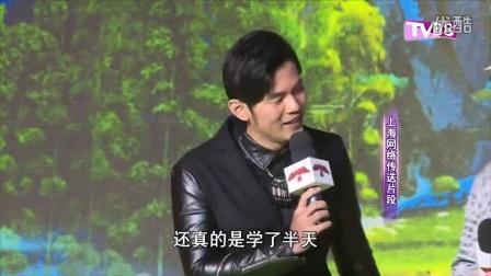 生日翌日赴上海宣传电影功夫熊猫3周杰伦配音时向成龙偷师
