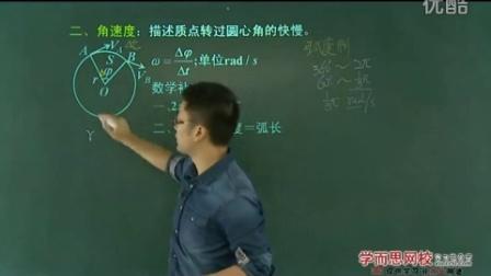高中物理必修2预习领先班章进全38讲 1圆周运动 1知识点.mpg