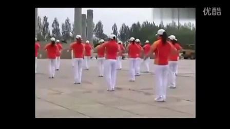 大学健身操盘视频 佳木斯快乐舞步第二套完整版