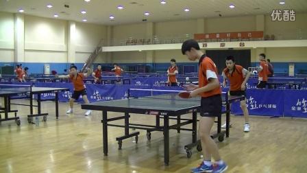 《乒乓球比赛视频》乒乓球学校内部自由对抗赛 02完整版