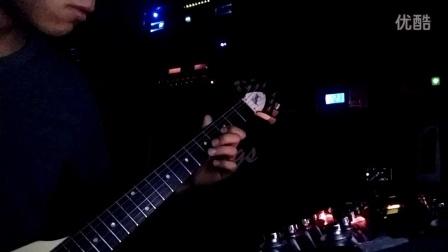 一直很安静  电吉他