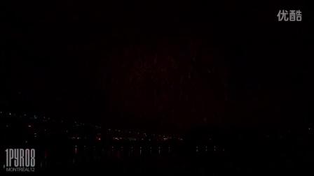 -焰火表演-蒙特利尔2012-日本队