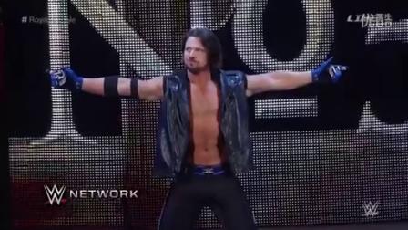 王室决战强援来了 AJ斯塔尔斯WWE首秀