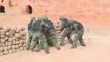中国特种部队室内战术训练演示