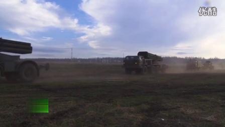 俄军核反击大演习画面曝光 多型核导弹凶猛发射