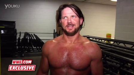 【王室决战】AJ Styles自评WWE首演 如果能赢画面将太美