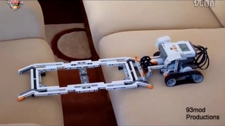 608016 乐高NXT简易架桥车-机器人兵团转载