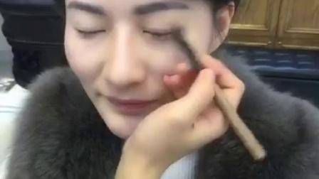 简单欧式妆容学习过程【美妆课堂视频教程】