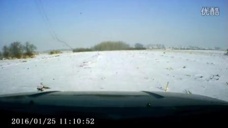 哈弗H3 雪地撒欢