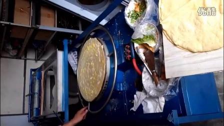 金香我爱发明仿手工小型半自动菜煎饼果子机器做法视频