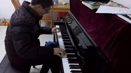 水邊的阿狄麗娜(立式鋼琴)_tan8.com