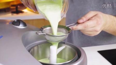 如何制作日本料理寿司-抹茶冰淇淋