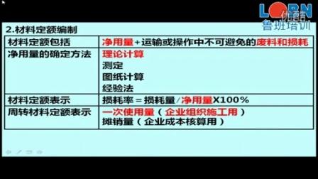 鲁班培训2015二建精讲管理3